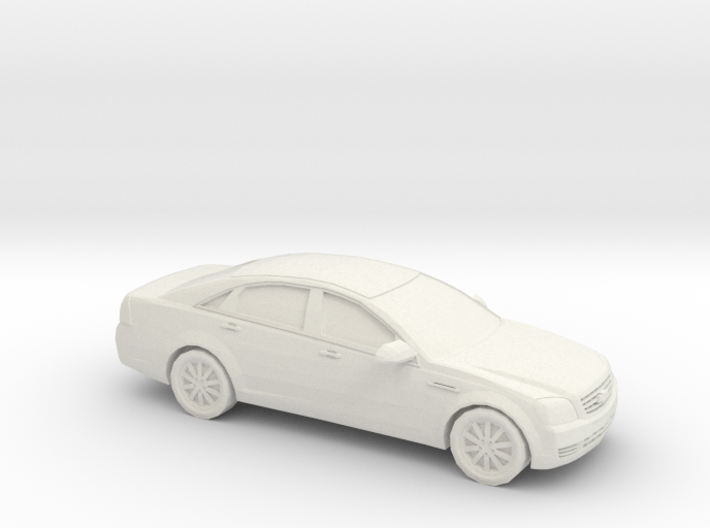 1/87 2005-13 Chevrolet Caprice 3d printed