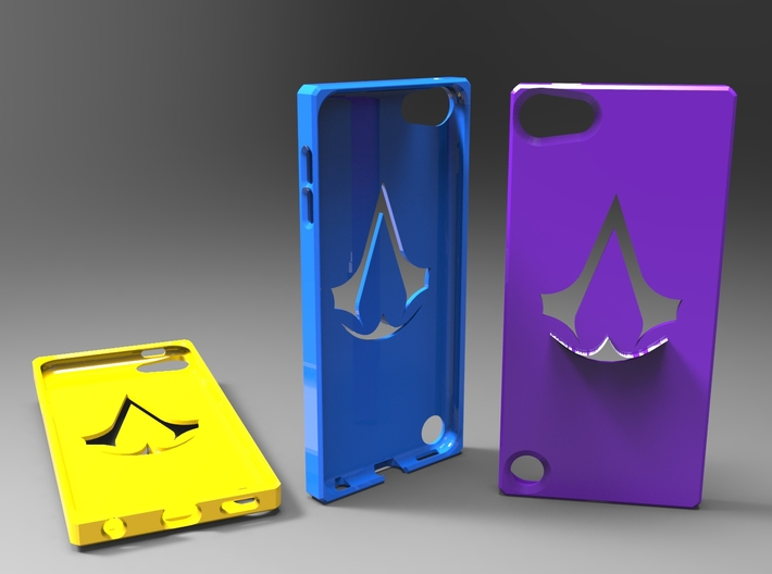 Ipod 5th generation assassins creed case 3d printed
