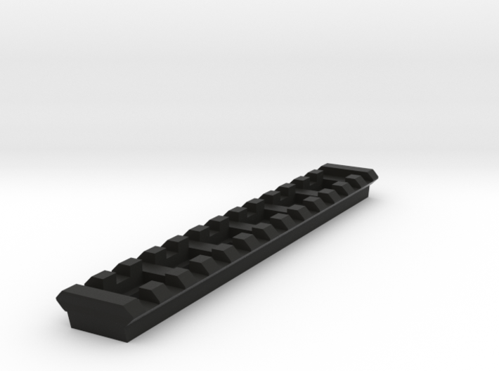 13 Slots Picatinny Rail (Pre-Drilled) 3d printed