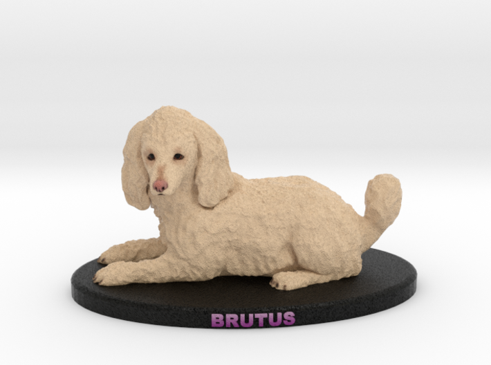 Custom Dog Figurine - Brutus 3d printed