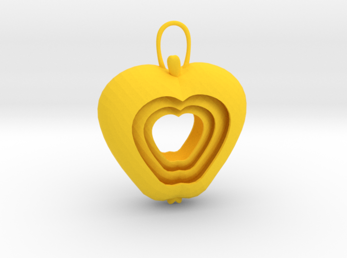 Apple for a rainy day (Pendant) 3d printed