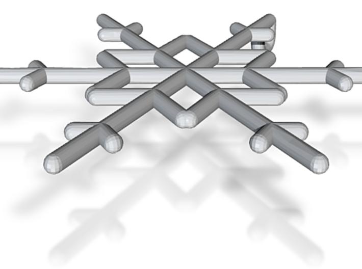 Snowflakes Series I: No. 10 3d printed