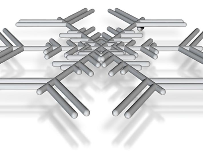 Snowflakes Series I: No. 7 3d printed