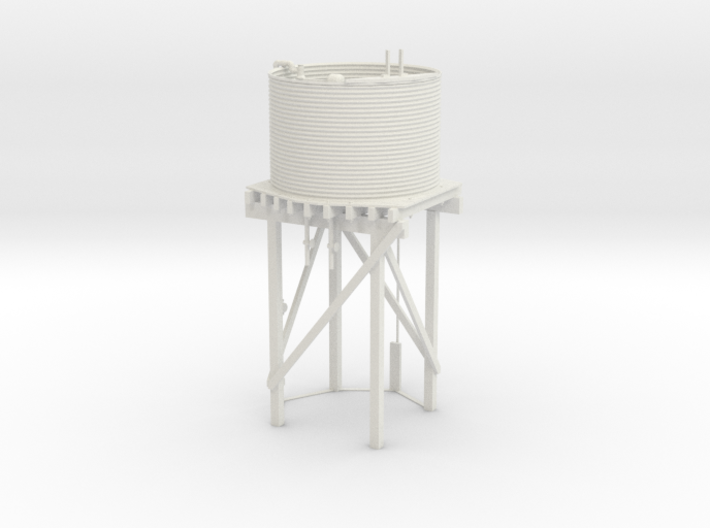 Victorian Railways 16mm scale Gould Water Tank 3d printed