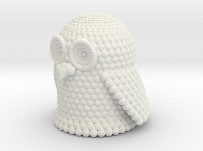Pondering Owl 3d printed