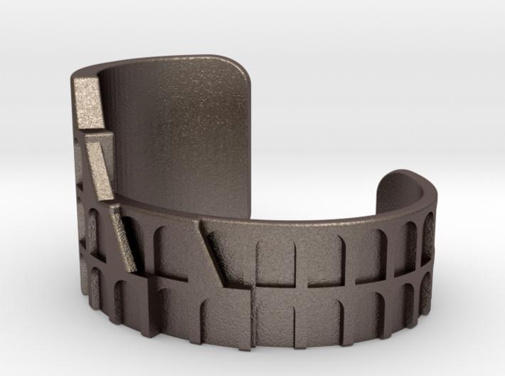 Colosseum Bracelet Size Medium (Metal Version) 3d printed