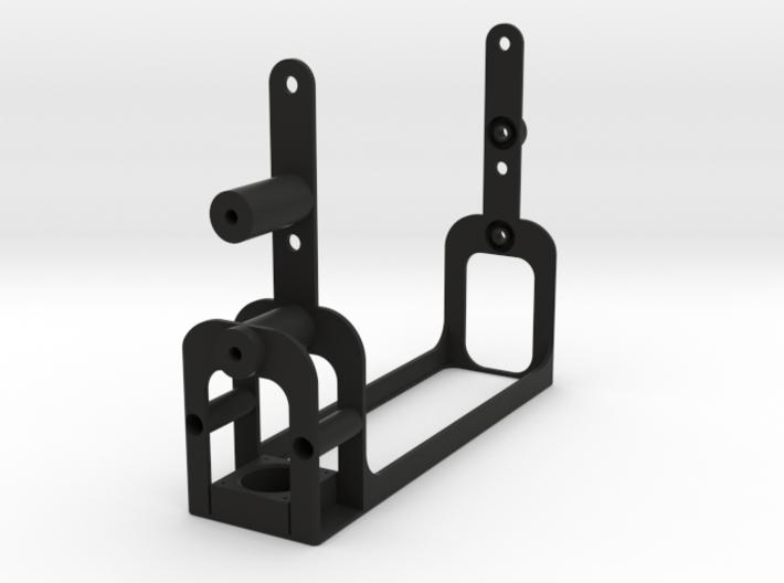 Single DIN Bracket for TM-V71A 3d printed