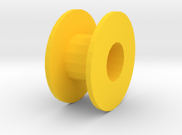 2mm Shaft Pulley 3d printed
