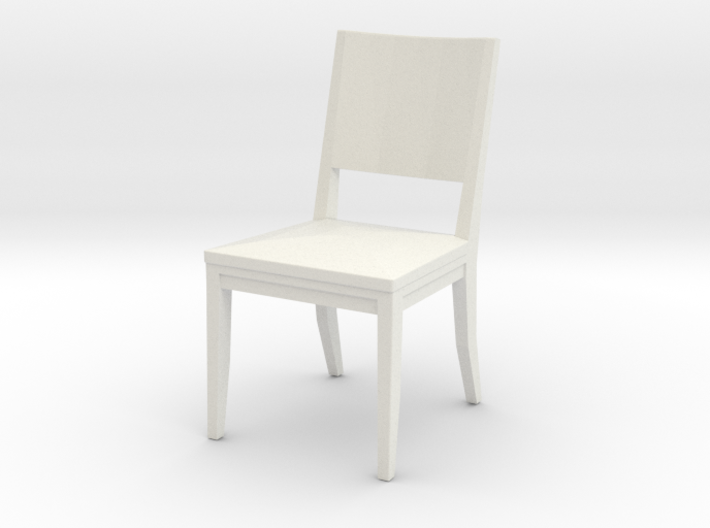 Dining Chair 1:24 scale 3d printed