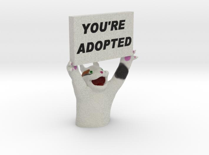 Surprise Cat 3d printed