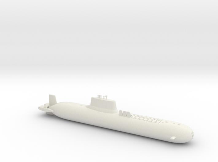 1/700 Typhoon Class SSBN 3d printed