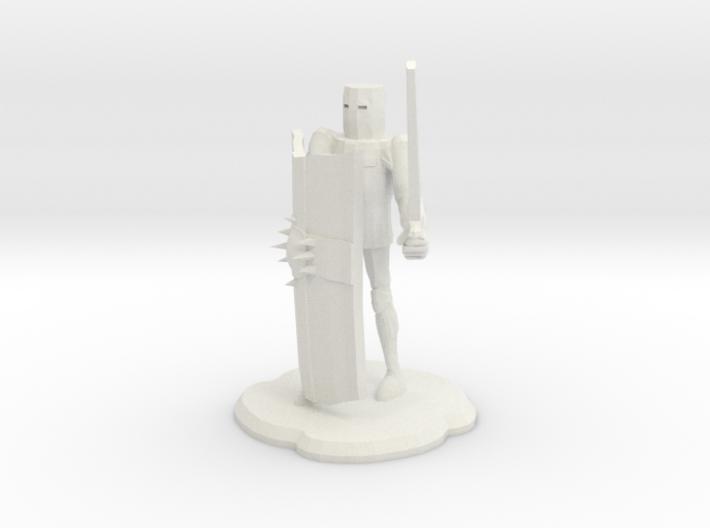 Crusader 3d printed