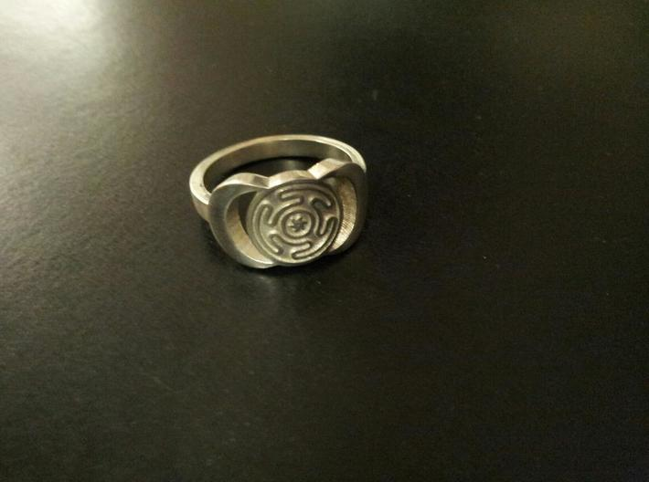 Hecate ring sizes 11 3d printed