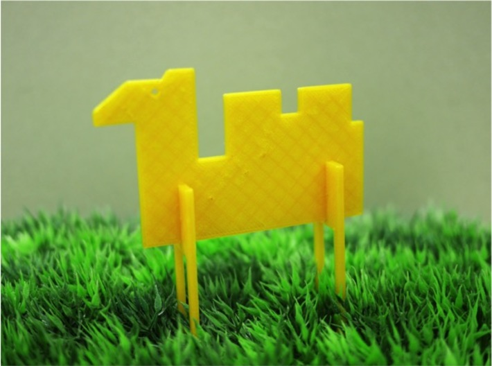 Animal_Camel 3d printed