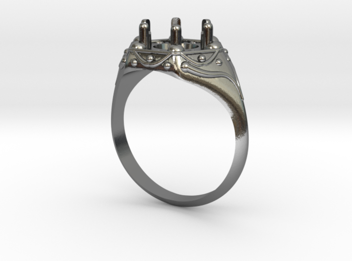Signet Ring size 7 3d printed