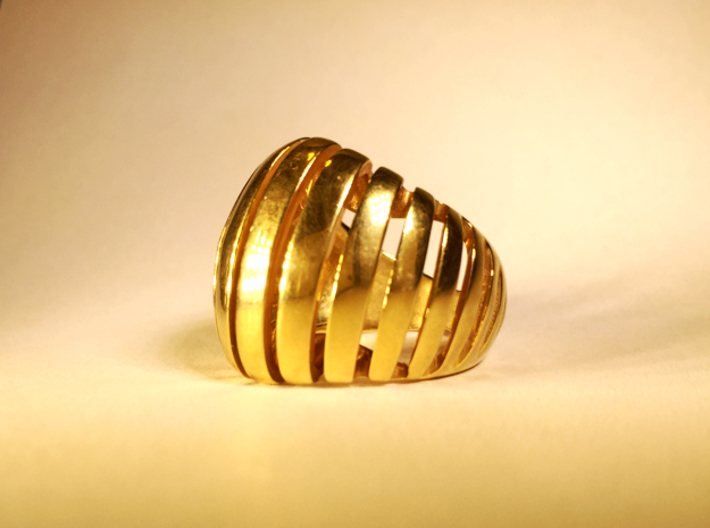 Taken 3d printed Gold Plated Brass