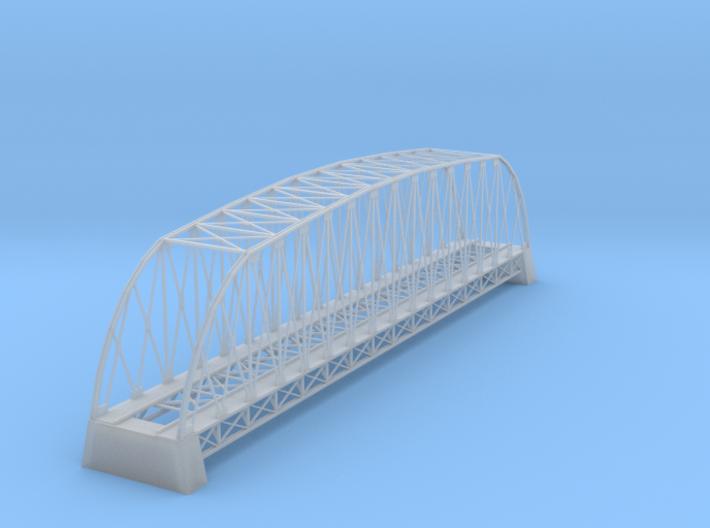 162 Ft Steel Bridge Z Scale 3d printed 162 Ft Bridge z scale