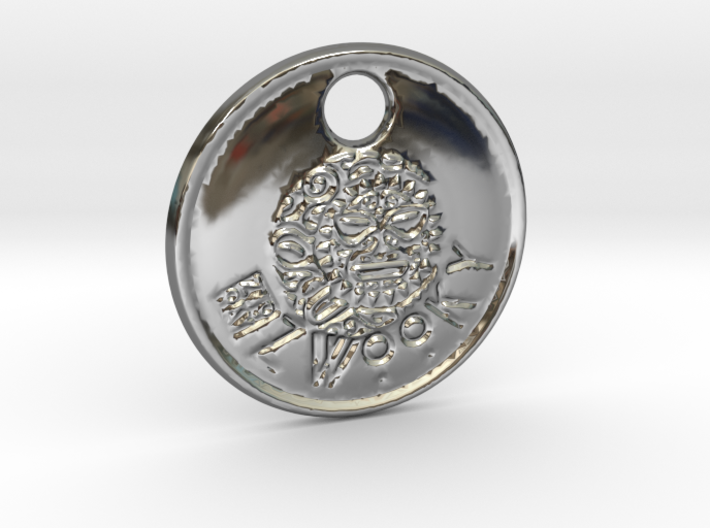 ZWOOKY Style 84 Sample - keychain head 3d printed