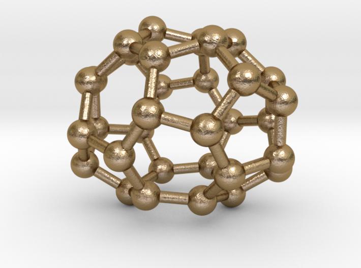 0011 Fullerene c32-2 d2 3d printed