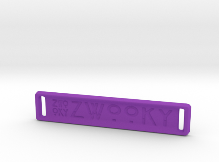 ZWOOKY Style 18 Sample - bag tag 3d printed