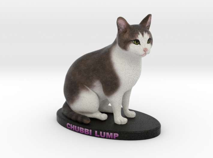 Custom Cat Figurine - Chubz 3d printed
