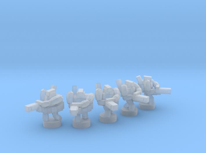 UWN - Infanty Squad [Minigun] 3d printed