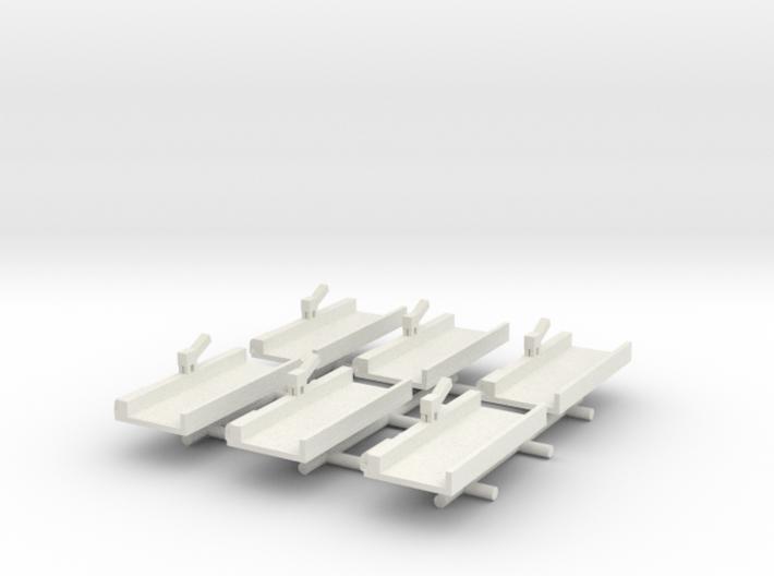 Floating Drydock x6 3d printed