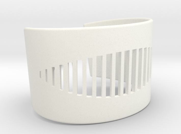 Wristcuff - pattern cutout (small) 3d printed