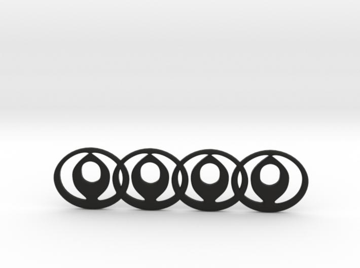 Mazda Audi Car Badge Mashup 3d printed