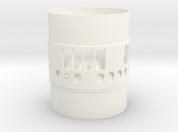 Titan ll BT70 Interstage Coupler-(Gemini-Titan) 3d printed