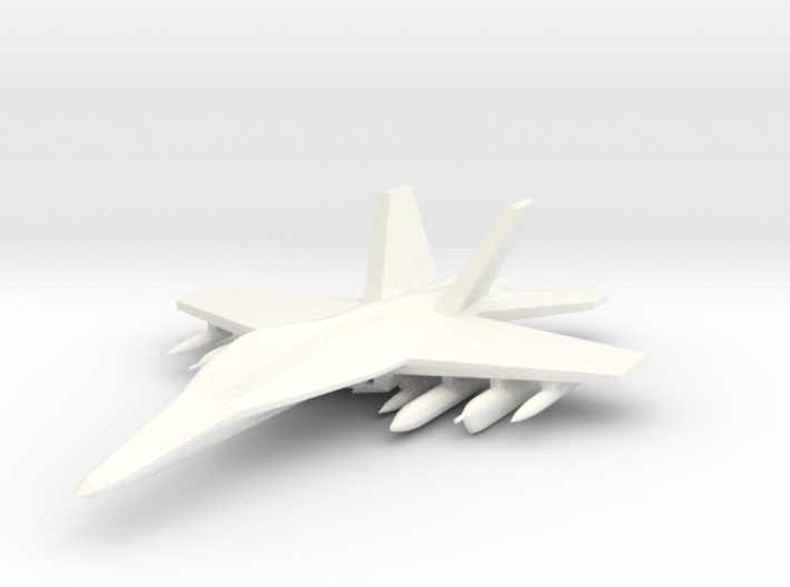 1/285 EA-18 Growler 3d printed