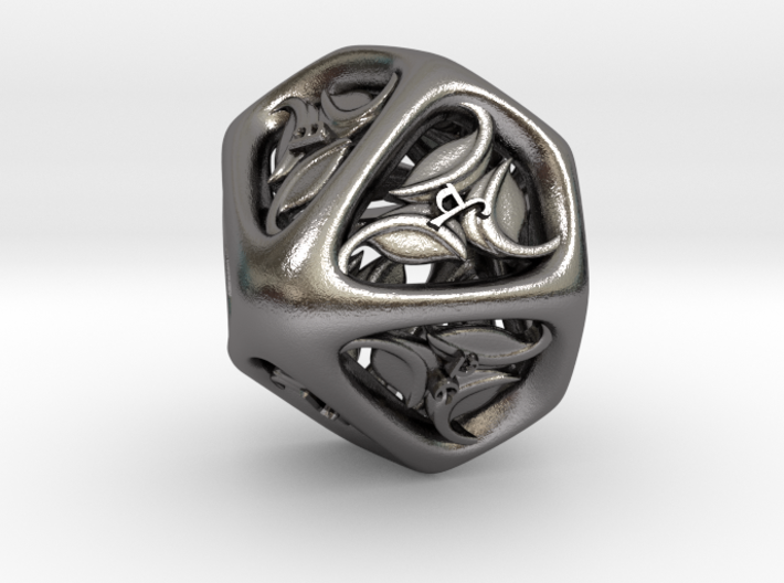 Tengwar Elvish D10 (Numbered 1-10) 3d printed