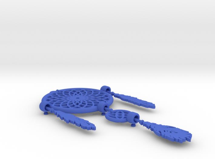 Dream Catcher Necklace Pendant 3d printed