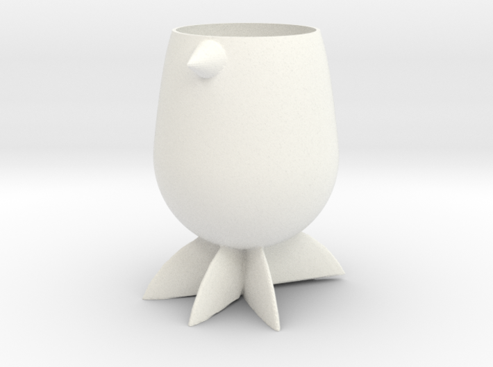 Penguin Planter 3d printed