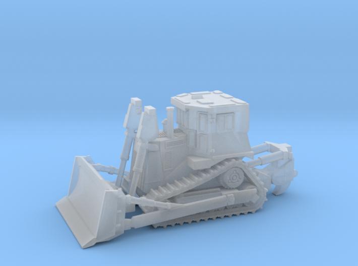 Armored Dozer Doobi 1/160 N Scale 3d printed