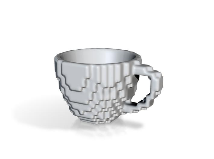 PixelCup Espresso (small) 3d printed