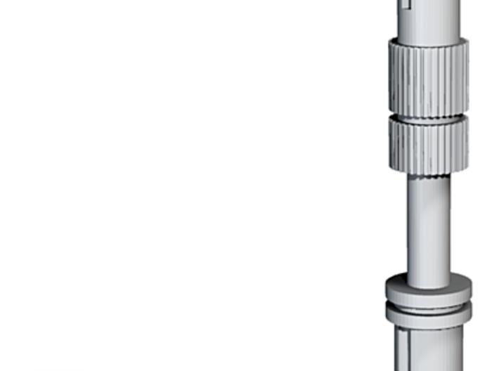 Astromech Shoulder Hydraulic C 3d printed