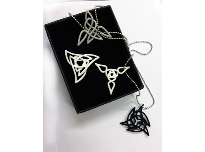 Triquetra 3 3d printed Check out the other pendants in this collection