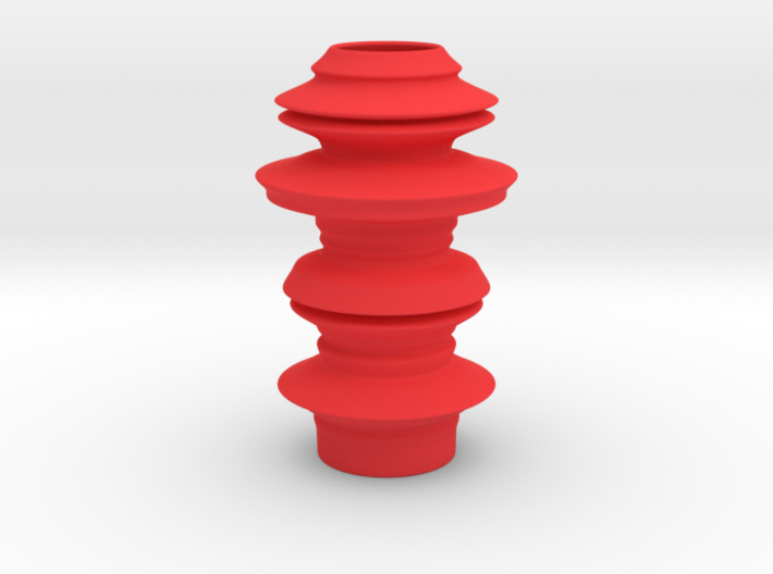 Earthen style Vase 3d printed