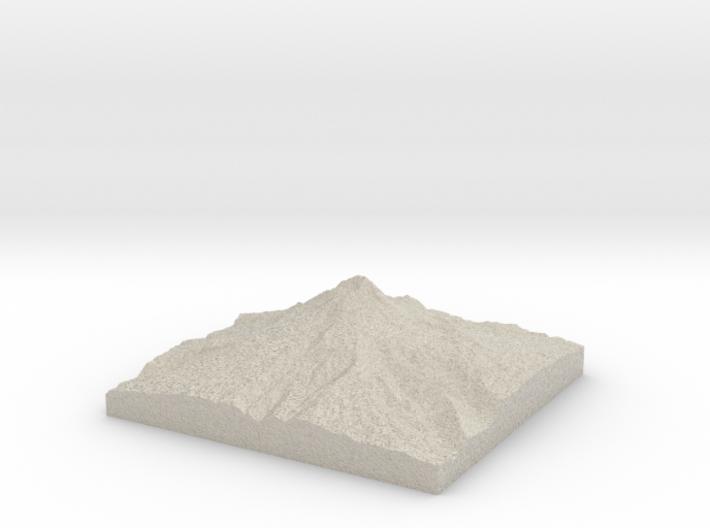 Model of Steel Cliff 3d printed