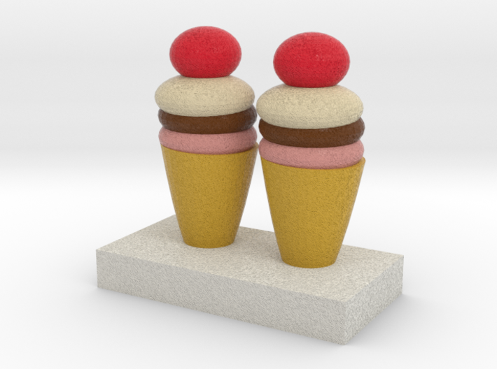 Ice Creams Model 3d printed