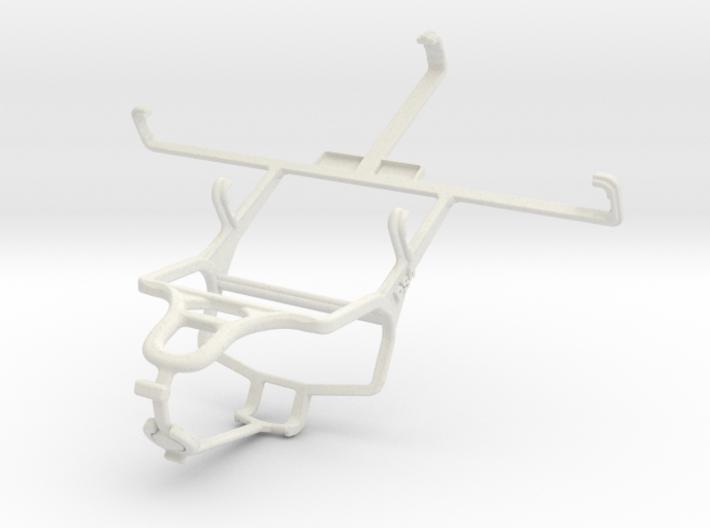 Controller mount for PS4 & BLU Studio 5.3 II 3d printed