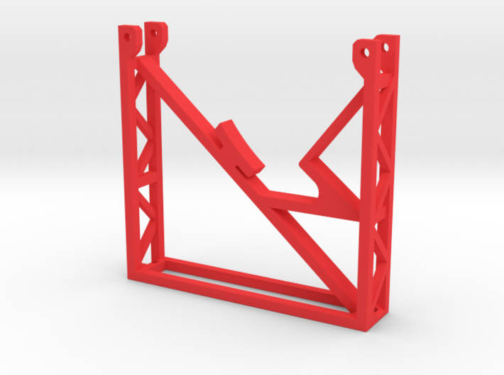 Rear Support Stand Rev 1 3d printed