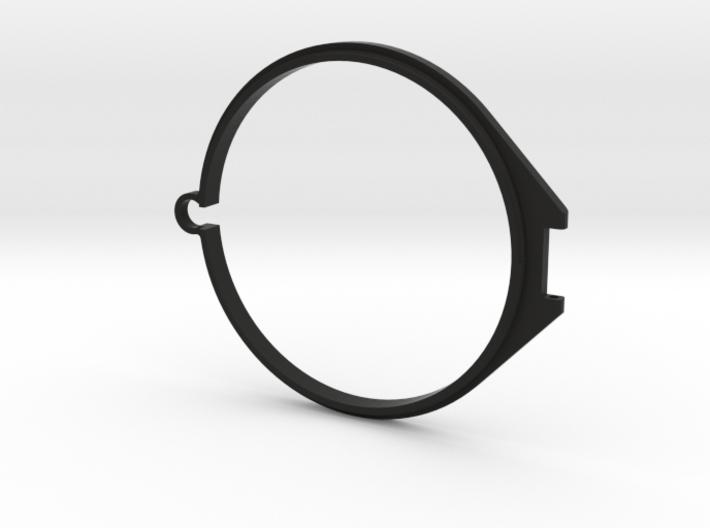 77mm Flip Lens Cap - Base 3d printed