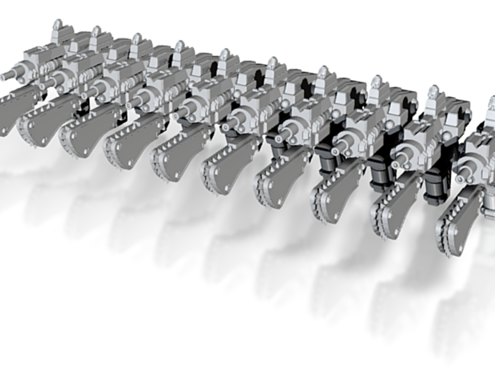 advanced laser Pistol 001a chain 3d printed
