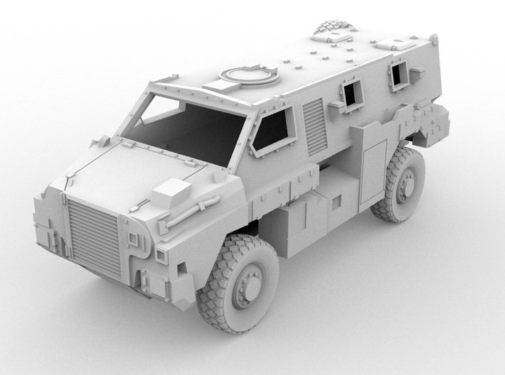 Bushmaster IMV(OO/1:76 Scale) 3d printed