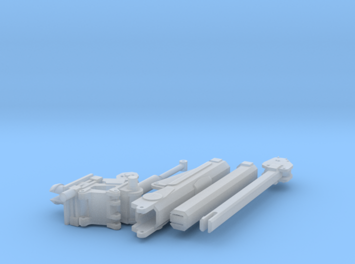 1/64 Crane for Service Bed (Small) (S Scale) 3d printed