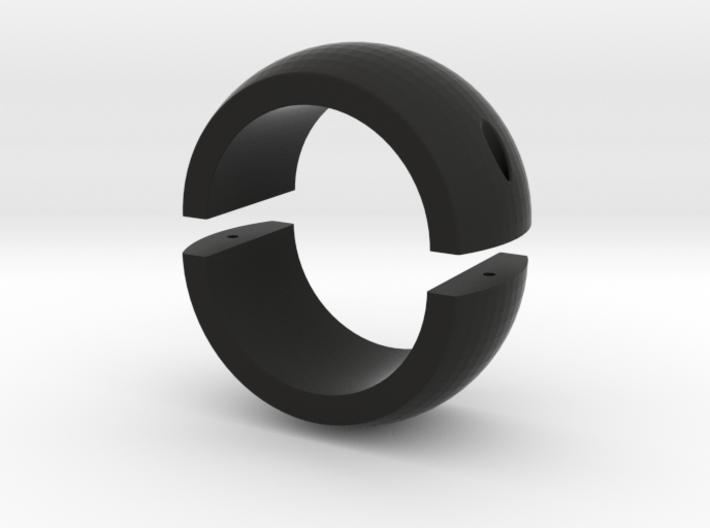 30mm Ring for Spherical Bearing Riflescope Mount 3d printed