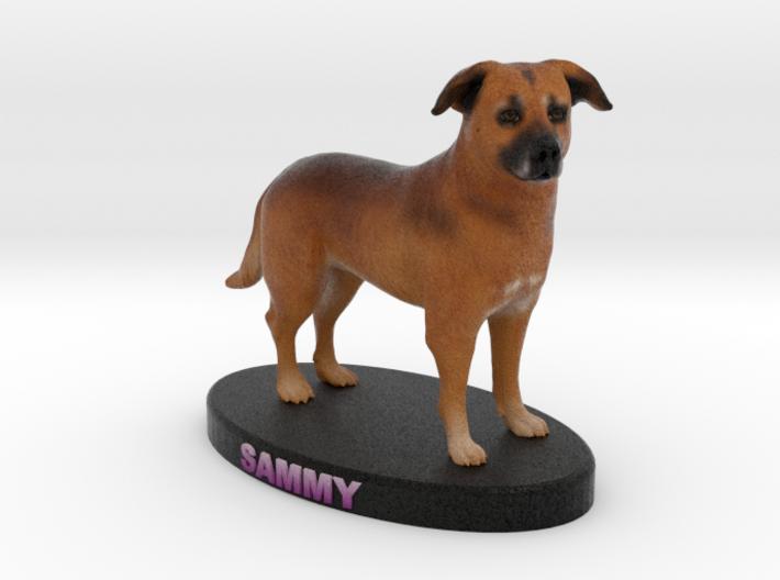 Custom Dog Figurine - Sammy 3d printed