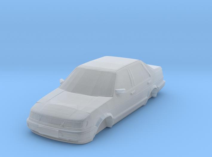 n scale FAW-VW jetta king MK2 CiX 3d printed